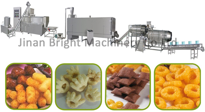 equipment for producing puffed food