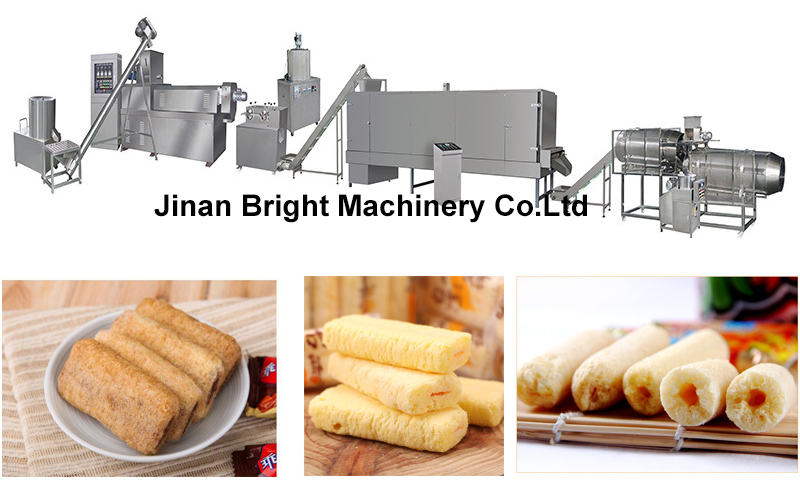 puffed core filling food machine
