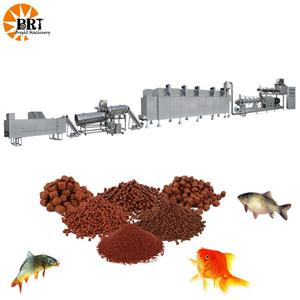 Small Floating Fish Feed Pellet Processing Machine