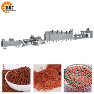 sinking fish feed pellet processing machine