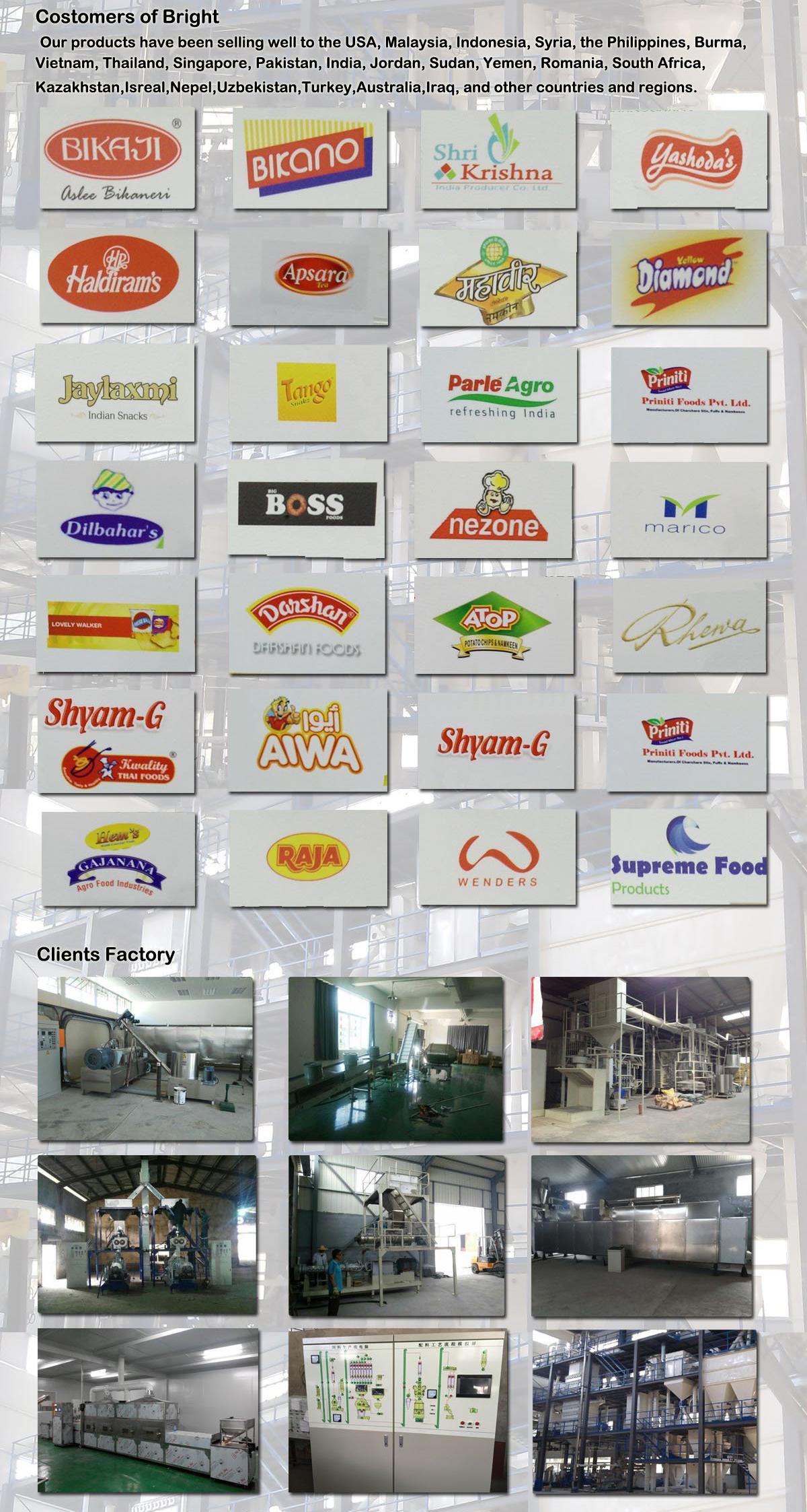 supply snack extruder manufacturers