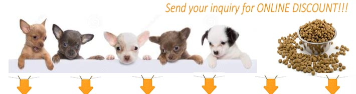 Pet dog feed processing machine