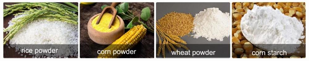 corn snack food machine
