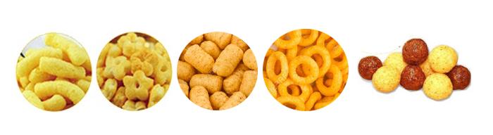 Farine de maïs Snack Extrudeuse