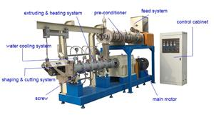 Brief introduction of extruded aquatic feed