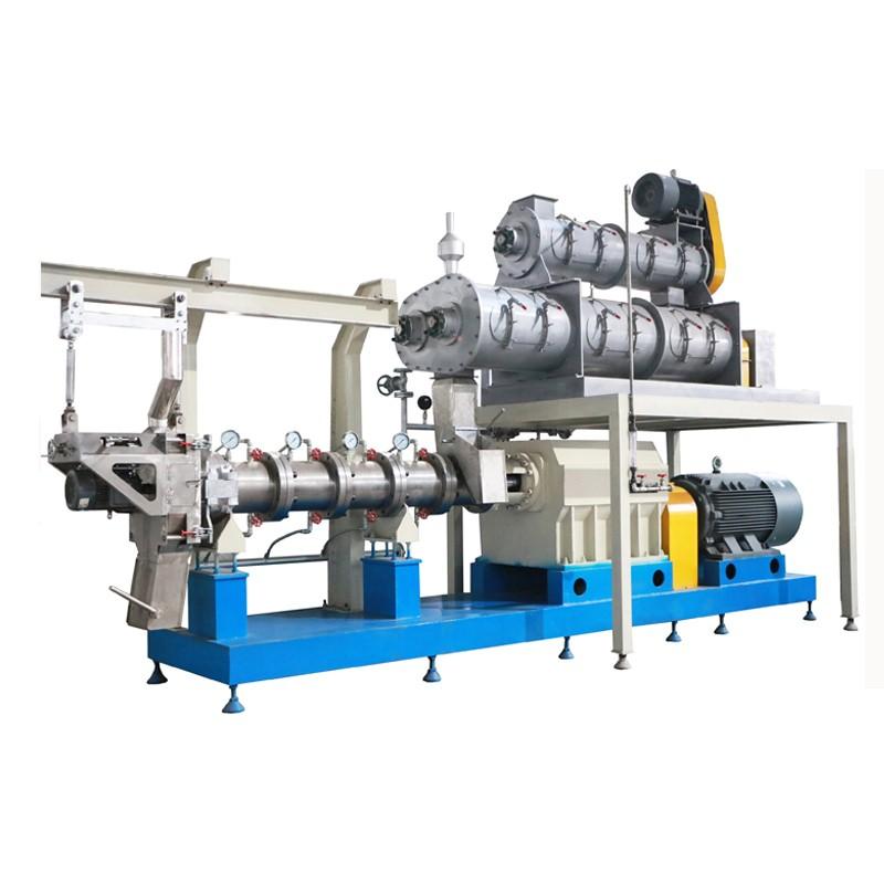 1000 kg / h machine de fabrication de nourriture pour poissons