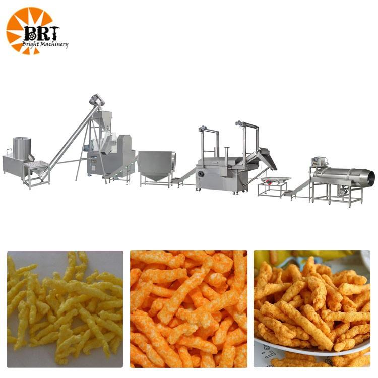 client zambien a acheté une ligne de production d'aliments frits profonde