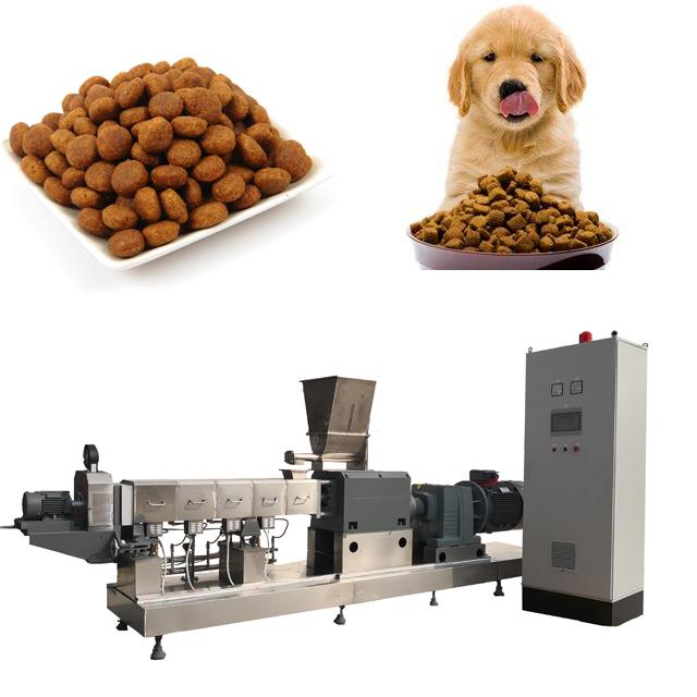 ligne de machine de production d'aliments pour chiens et chats pour animaux de compagnie