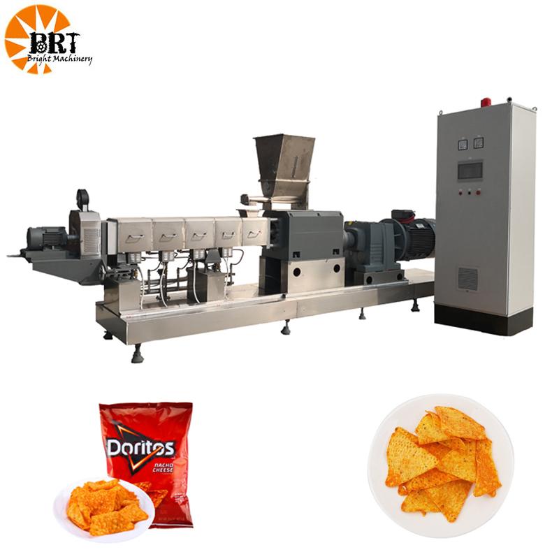 Ligne de production d'aliments frits