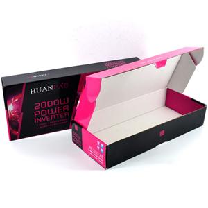 CMYK Printing Corrugated Box B Flute Packaging Supplier