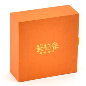 Factory Customized Rigid Box With Printing And Stamping