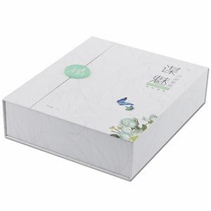 Caja de regalo de impresión rígido grande de la caja de fábrica
