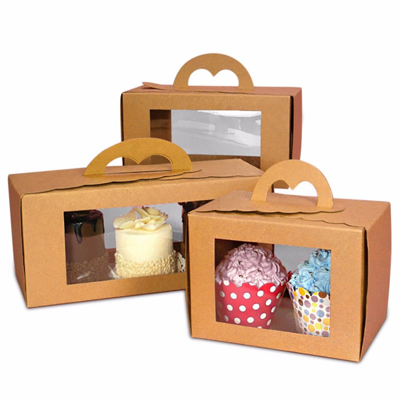 Manufacturer Of Kraft Paper Food Packaging Box With Window