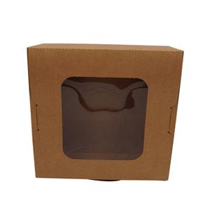 Factory Custom Food Paper Box With PET Visible Window