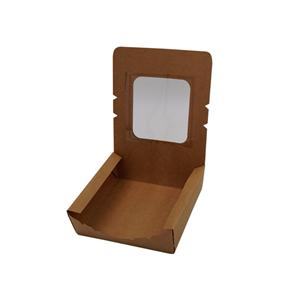 Factory Price Food Grade Kraft Paper Take Away Paper packaging Box