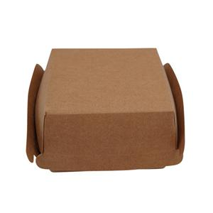 Factory Custom Burger Box Standard Size With Logo Printing