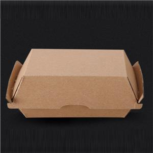 Packaging Box Manufacturer Corrugated Burger Box Big burger food box