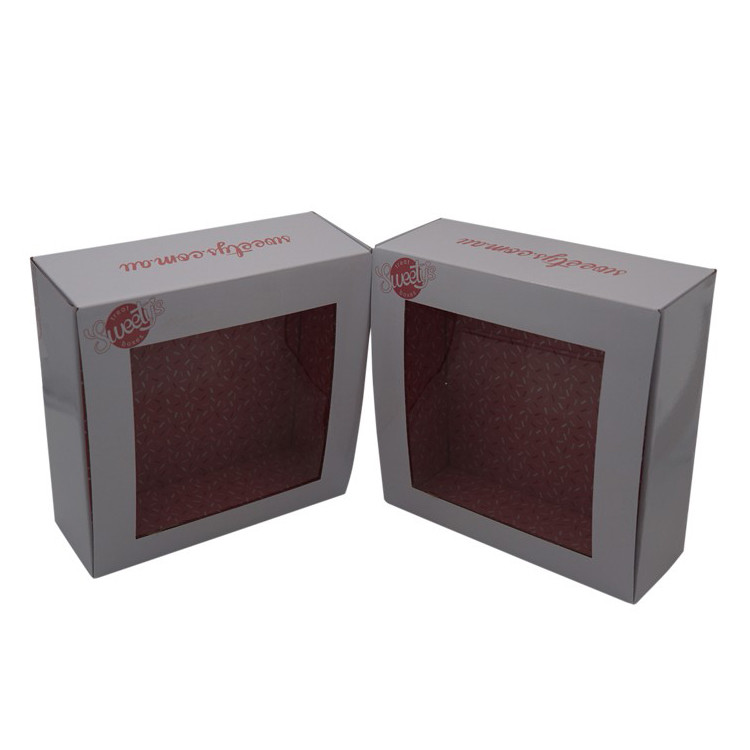 Packaging Box Manufacturer Two sids printing double sides printing box with window