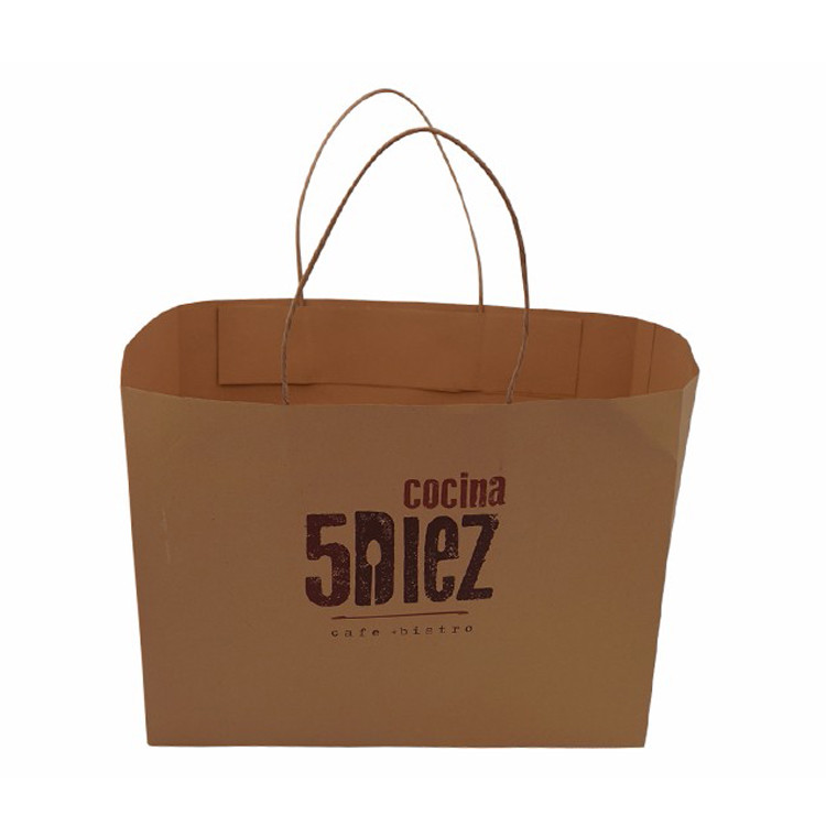 China Vendor Paper Carrier Bag With Printing And Paper Handle