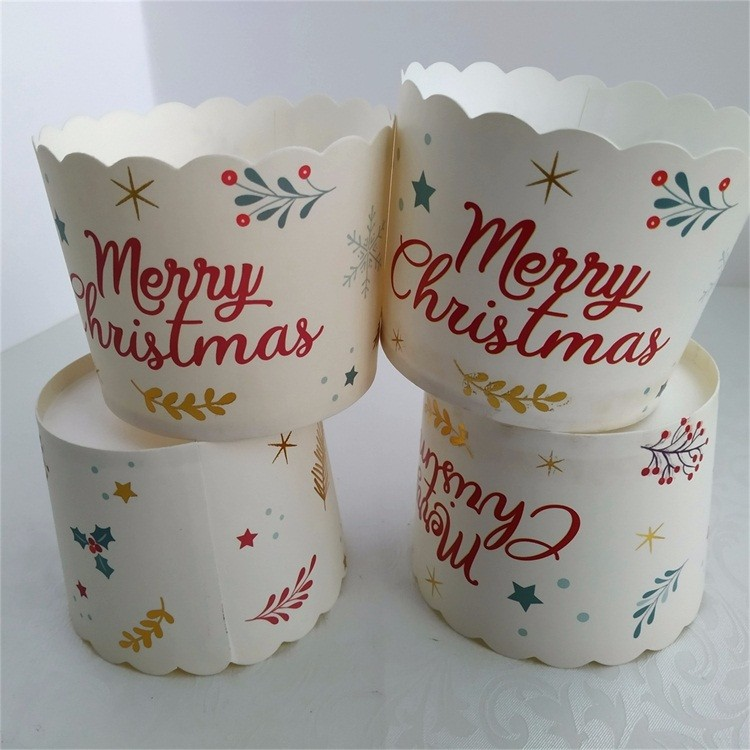 China Vendor CMYK Printing cupcakes packaging baking cups