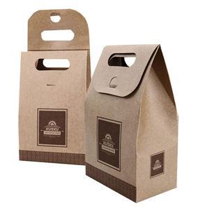 中国工場手作りの小型パッケージアート紙袋良質