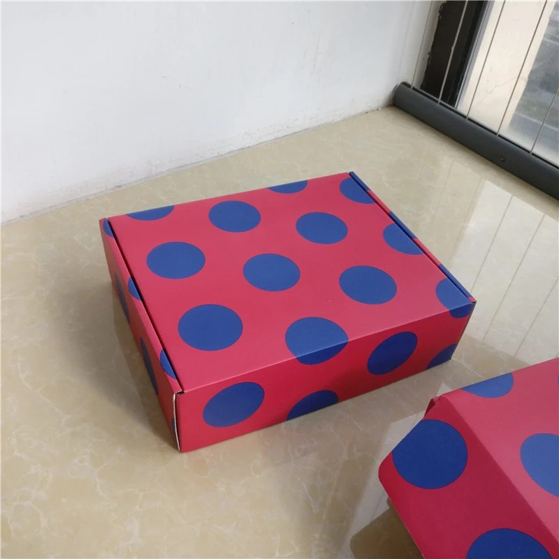 Manufacture Custom E-flute Corrugated shipping Mailer boxes printed colorful design Cardboard Paper Packaging Corrugated Box