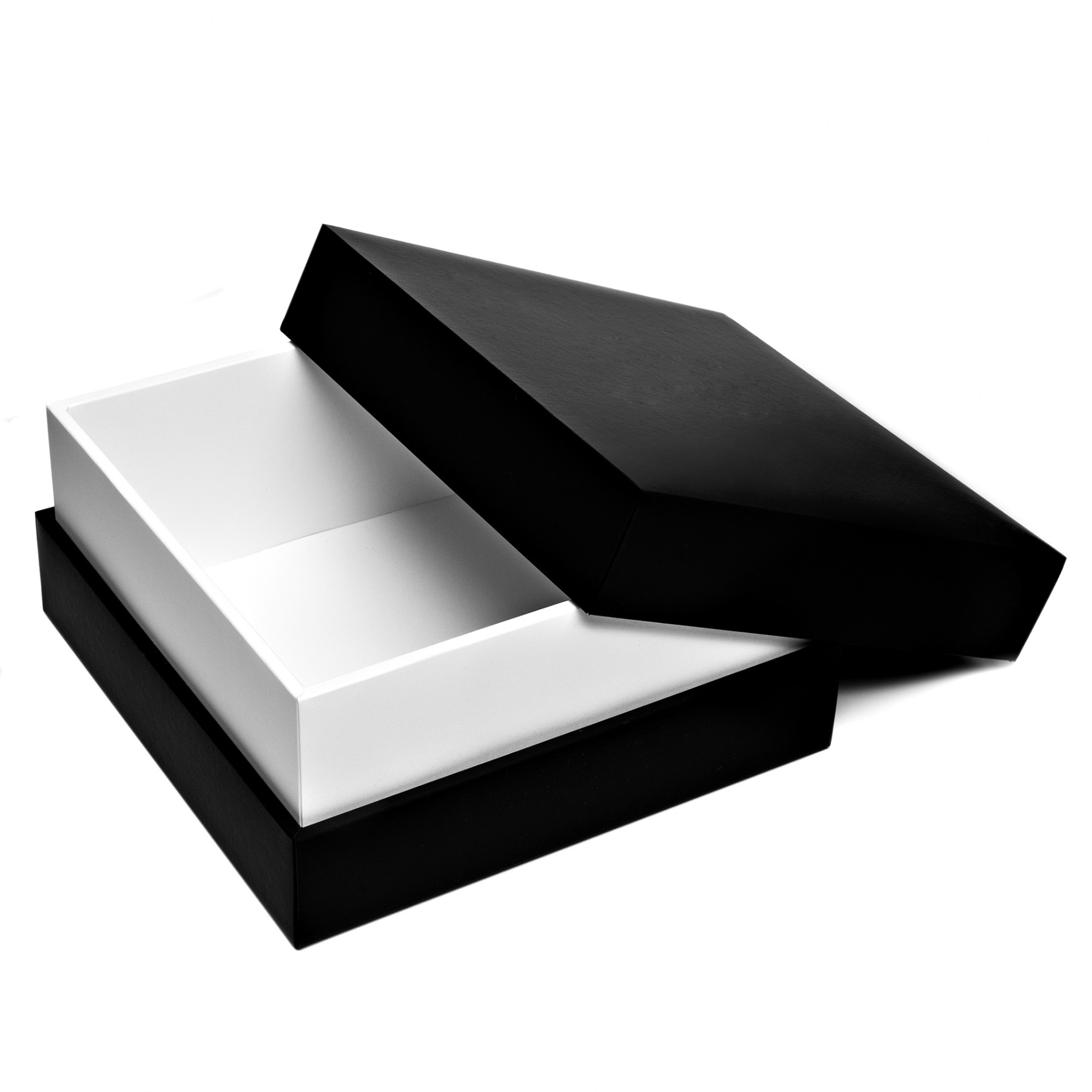 Custom luxury rigid sleeve boxes black tray packaging luxury gift boxes