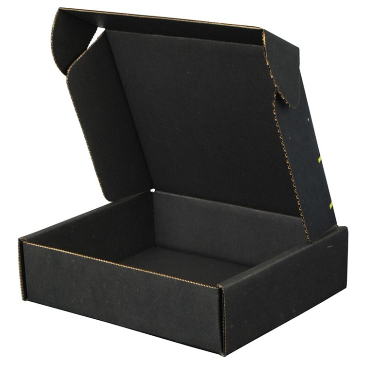 China Factory black matte flat clothing mailer delivery corrugated shipping packaging box Manufacturers, China Factory black matte flat clothing mailer delivery corrugated shipping packaging box Factory, Supply China Factory black matte flat clothing mailer delivery corrugated shipping packaging box
