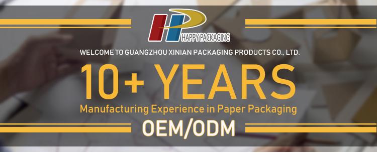 中国工場メイク包装箱