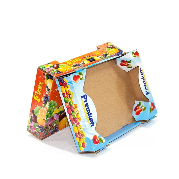 Corrugated Fresh Fruit Karton Verpackung Big Size Box