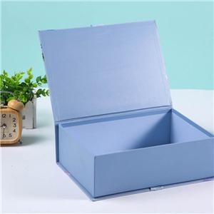 China Supplier Custom Design Printing Luxury Rigid Cardboard Makeup Cosmetic Gift Packaging Paper Box With Ribbon