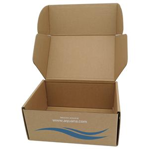 Tuck end corrugtaed box for shoes paper packaging