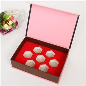 proveedor de china alimentos caja de regalo de paquete magnético personalizado
