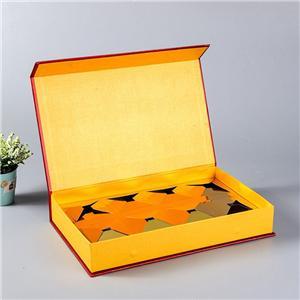 cajas de paquete de regalo de alimentos rígidos impresos personalizados de fábrica de china
