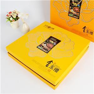 cajas de pastel de luna de empaquetado de alimentos de regalo de cartón personalizado de fábrica de china