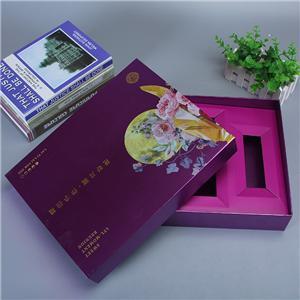 embalaje de caja de papel de regalo de cartón de comida personalizado