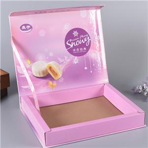 caja de papel de la comida del pastel de luna de la fábrica de China