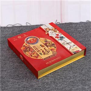 caja de embalaje de regalo hermosa galleta personalizada