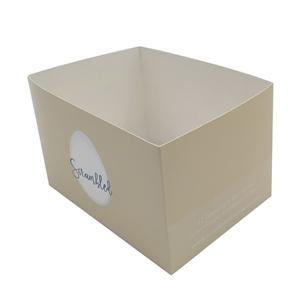 Fábrica de China paquete de alimentos personalizados caja de papel
