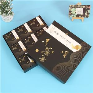 paquete de comida de caja de embalaje de papel personalizado de fábrica de china