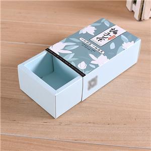 caja de papel de embalaje de té de comida de fábrica de china