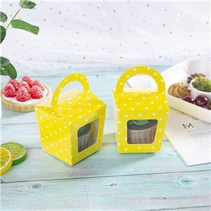 Proveedor de China caja de papel de embalaje de pastel personalizado