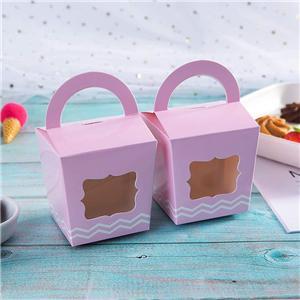 Proveedor de China paquete de pastel de comida personalizada caja de papel