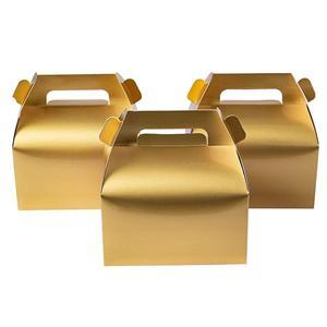 Fabricante de caja de embalaje de pastel personalizado de alta calidad al por mayor