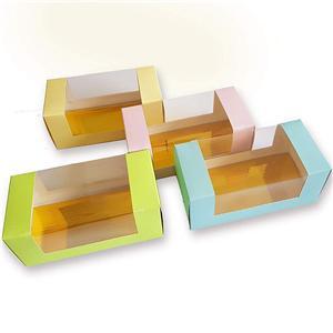 caja de papel de embalaje de la torta de la taza de la fábrica de China