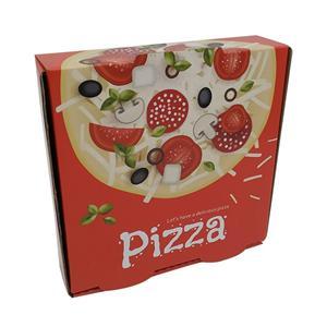 proveedores personalizados de cajas de pizza de cartón de 12 pulgadas