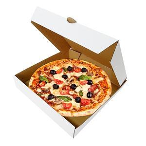 cajas de pizza personalizadas impresas al por mayor