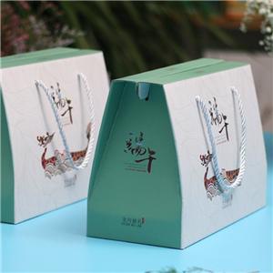cajas de papel de empaquetado corrugado de regalo de comida personalizada