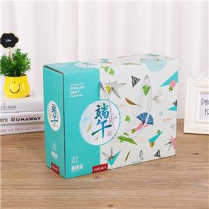 Caja de papel de empaquetado del cartón ondulado del regalo de la comida del proveedor de China