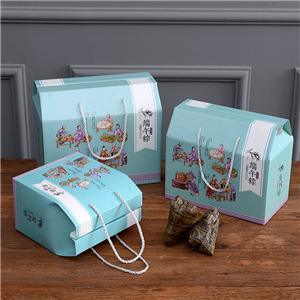 caja de papel corrugado de embalaje de cartón de regalo de comida personalizada